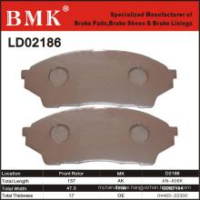 Advanced Quality Brake Pads (D2186)
