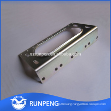Stainless steel housing with plating made by stamping