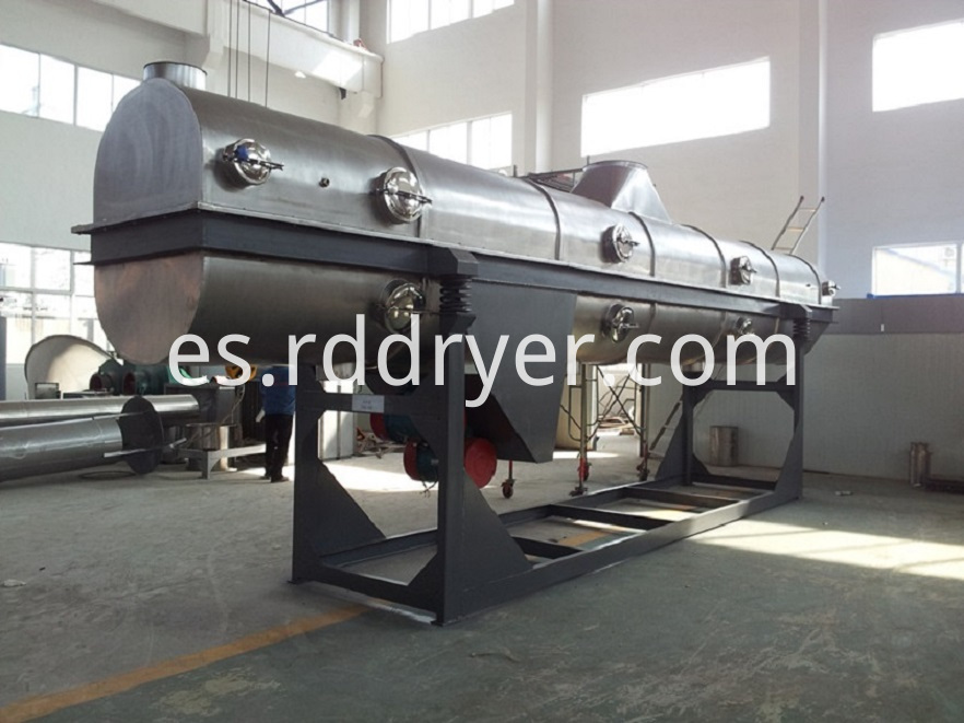 vibrating-fluidized dryer