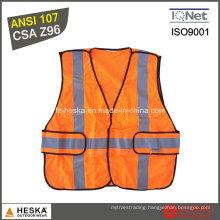 Reflective En 20471 Work Safety Waistcoat