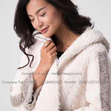 Lady Short Merino Shearling Jacket para mujeres