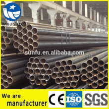 Factory price black welded S235JR steel pipe for structure