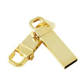 Memoria USB de encargo del llavero del metal del logotipo del negocio
