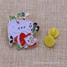 Fertigen Sie Metallabzeichen-Geschenk-Weihnachtsreverstift für Weihnachten besonders an