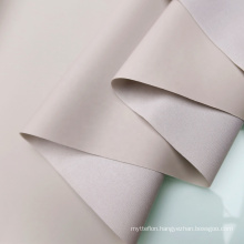 Gray Color PVC Coated Polyester Brushed Fabric 75D*190T For Inflatable Products Air Mattress Bags