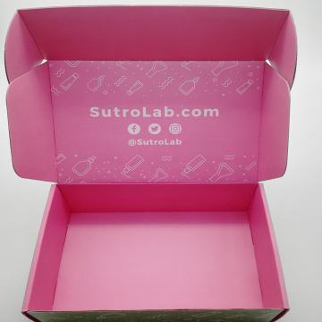 OEM Colorful Corrugated Paper Red Packaging Boxes