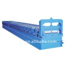 Rollo de acero automático color QJ 820 Rollo de acero color ángulo que forma la máquina