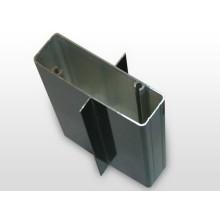 Aluminio recubierto Perfil de construcción de aluminio extruido