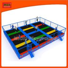 Mich Rectangular Mini Trampoline for Children