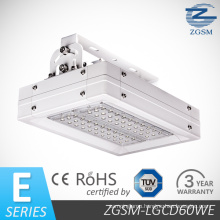 60W CE RoHS Certificated High Lumen LED Gas Station / Canopy Light