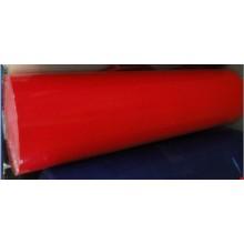 Película transparente roja para protección de superficie