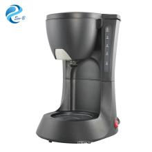 Venda quente 600ml 4-6 xícaras Black Drip elétrica automática máquina de café