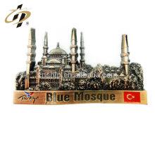 Wholesale custom 3D engrave wedding souvenirs antique metal magnetic lapel pin