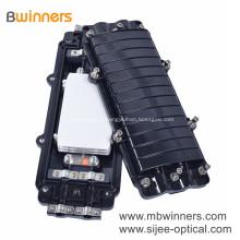 Boîtier d'épissure pour joint de fibre optique FTTX FTTH, type horizontal, 96 ports 2 en 2 sorties