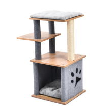 2021 Made In China Fashion Items Modern House Tree Design Cat Tree House