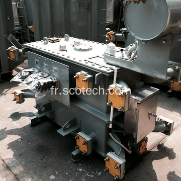 Transformateur de distribution double tension 800KVA 11 (6,6) /0,4KV