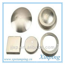 Estampagem metálica de produtos metálicos revestidos de zinco