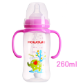9oz Baby PP Bottle Dengan Handle Baby Nursing