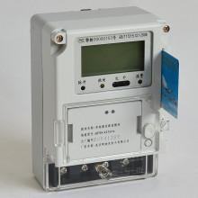 LCD / LED Display Smart Card Prepaid medidor elétrico com sistema AMR