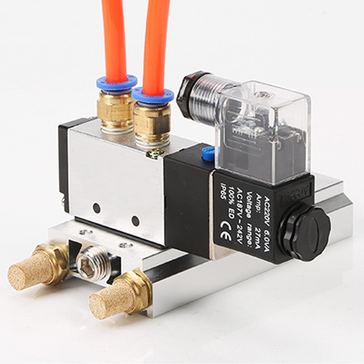 4V330-10 Pneumatic solenoid valves with confluence board