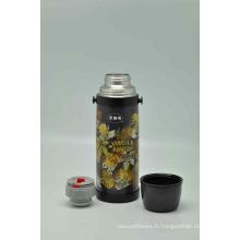 Haute qualité 304 en acier inoxydable flacon à vide double paroi Svf-1000e gris