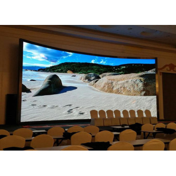 Deep Black Level Indoor Curved LED Display