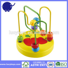 wood toy wooden bead maze