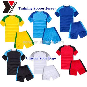 2017 uniforme de treinamento define o design de qualidade superior o seu próprio esporte camisa de futebol jersey de futebol