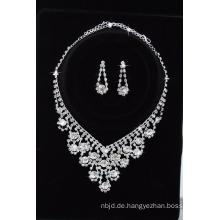 Verlobungsgeschenk späteste Korn-Halsketten-Entwürfe Ohrring