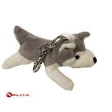 Kundengebundener Soem-Entwurfs-Plüsch-Schlittenhund keychain