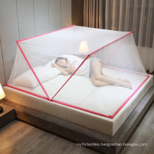 wholesale mosquto net stand 2021 Buy TIK TOK New Portable Quick Folding Anti-mosquito double Bed Adult mosquito net