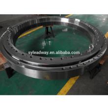 Rolamento do giro do rolo do dobro do grande diâmetro para o equipamento de levantamento da capacidade alta