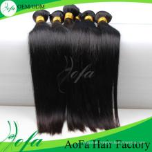 Aofa Unprocessed Brazilian Virgin Hair Human Hair Extension