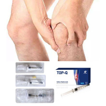 Gel médical de 1 ml de hyaluronate de sodium pour l'injection du genou dans l'arthrose