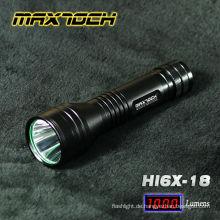 Maxtoch HI6X-18 Cree T6 LED Power Stil 18650 3.7V Akku Taschenlampe