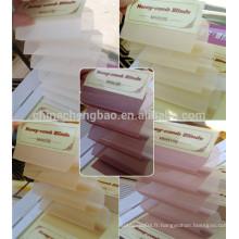 Chine fournisseur 25mm / 35mm / 45mm plissé accessoires aveugles