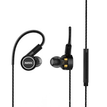 Remax Join Us NEW RM-580 Wired Magnetic Sports Triple-moving-coil Earphone
