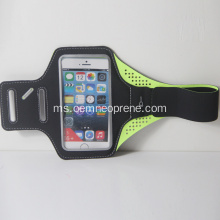Black lycra sport Fitness Armband for iphoneX