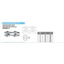 Série de pinces à câbles duplex pour matériel maritime