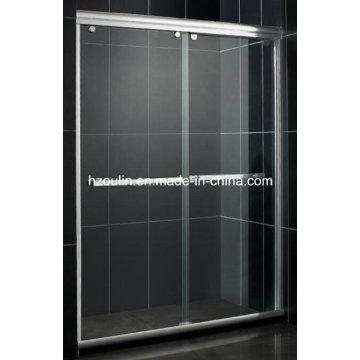 Vidrio de la puerta de la ducha (aluminio blanco del SD-300)