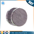 Factory price stainless steel 410 structured packing wire mesh for laboratory