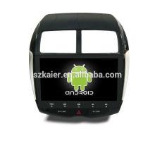 GPS, DVD, rádio, bluetooth, 3G / 4G, Wi-Fi, SWC, OBD, IPOD, espelho-link, TV para mitsubishi-asx