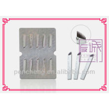 Single Use Eyebrow Tattoo Needle MUN-8# 14pin/pc