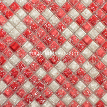 Ice Crack Crystal Swimming Pool Tile Mosaic