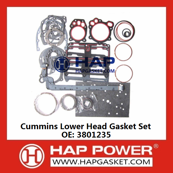 CUMMINS Lower Head Gasket Set 3801235