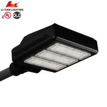 UL DLC Réglable 150watt 210watt a mené le stationnement public de lampe de réverbère a mené l'éclairage