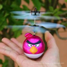 Nuevo rc animados vuelo pájaro pájaro rc avión remoto detección flyer de aves