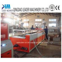 Linha de produção larga da placa da porta do PVC WPC / da extrusão do painel