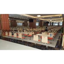 Conjunto de mesa de comedor comedor moderna escuela para mayor (FOH-RTC01)