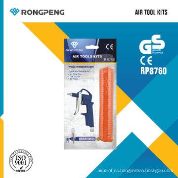 Rongpeng R8760 3PCS Herramientas de aire Kits Air Tool Accessories